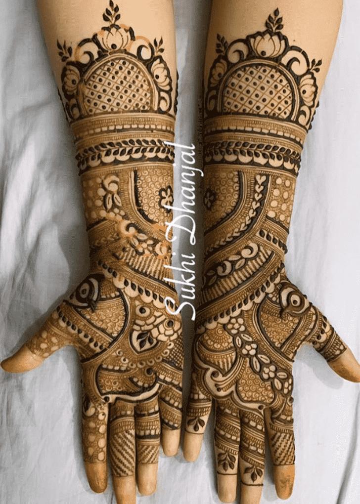 Magnetic Pennsylvania Henna Design