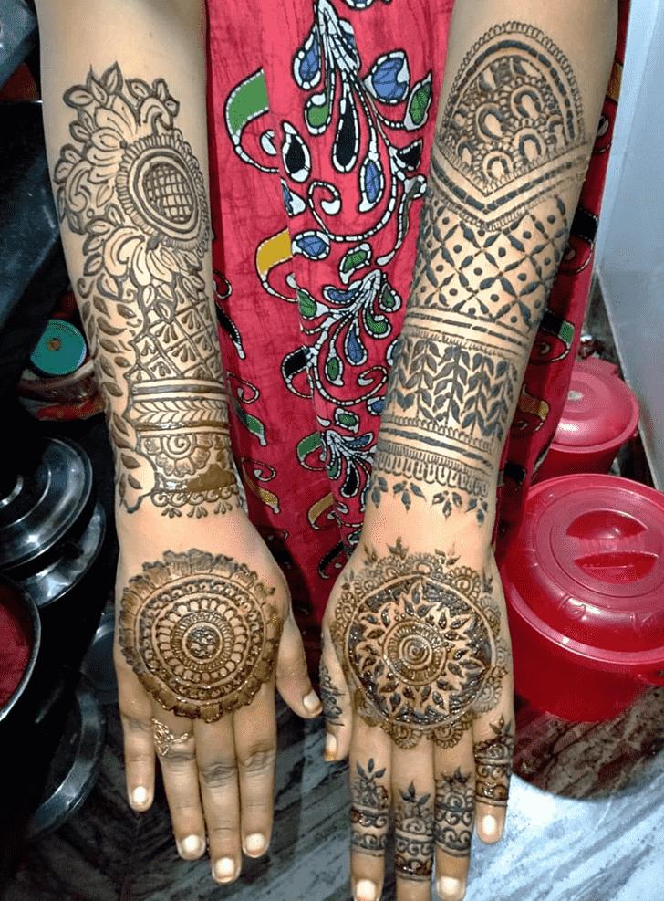 Magnificent Pennsylvania Henna Design