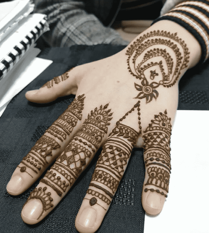 Marvelous Pennsylvania Henna Design