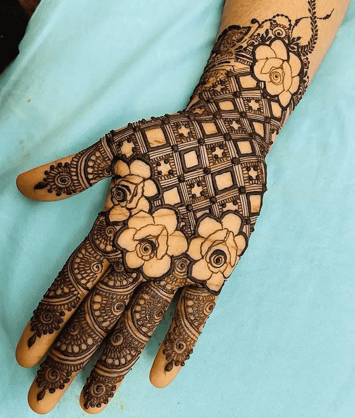 Nice Pennsylvania Henna Design