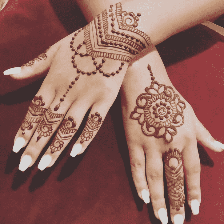 Pleasing Pennsylvania Henna Design