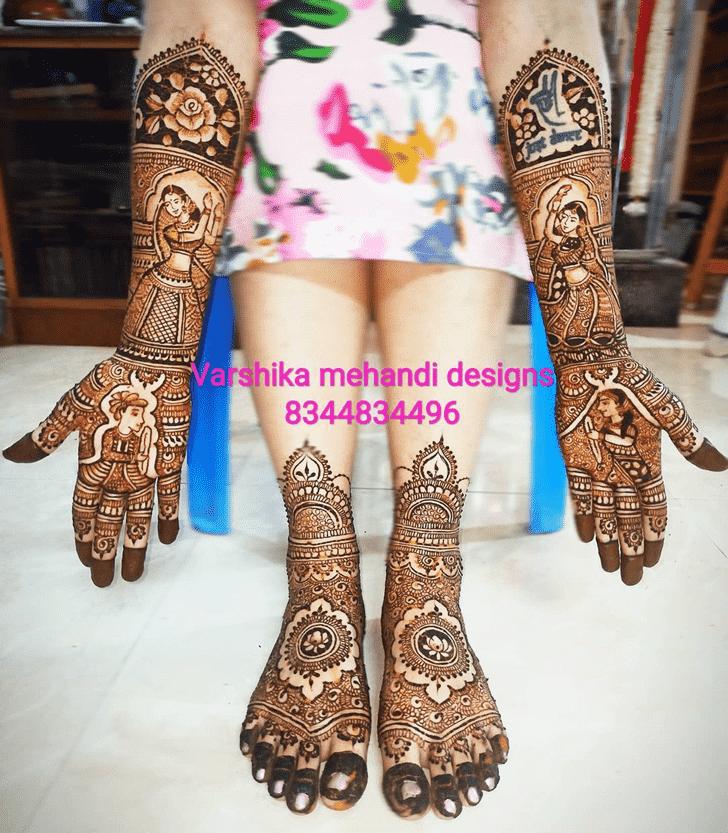 Radiant Pennsylvania Henna Design