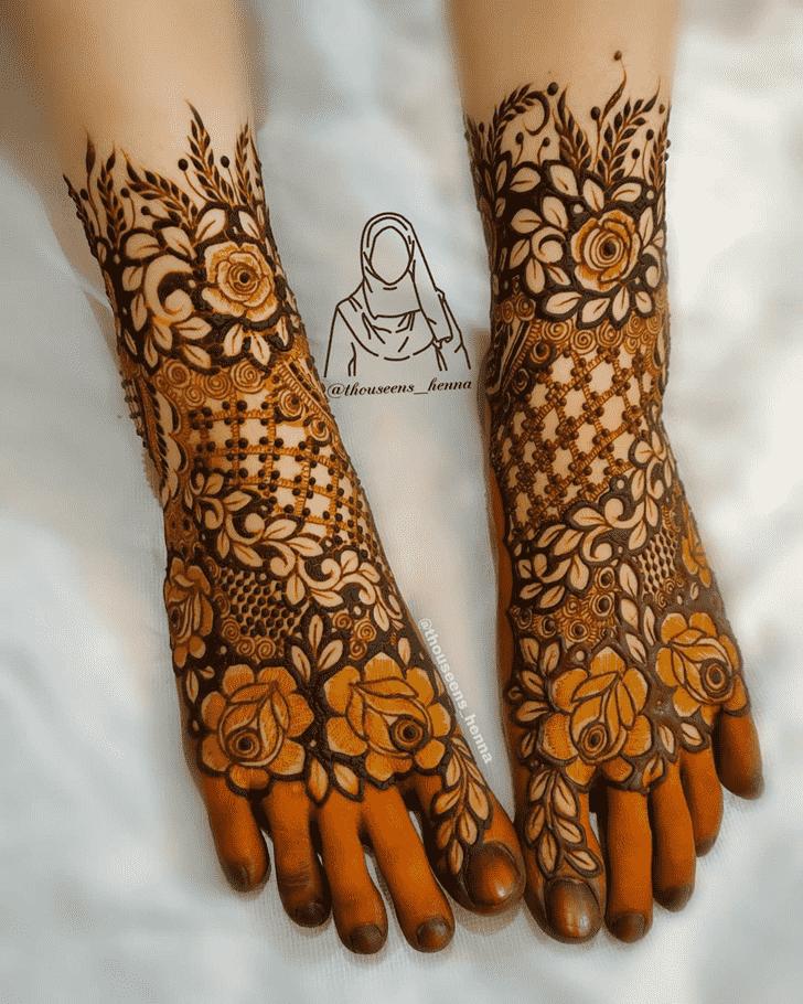 Ravishing Pennsylvania Henna Design