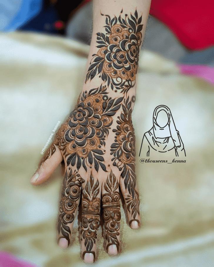 Resplendent Pennsylvania Henna Design