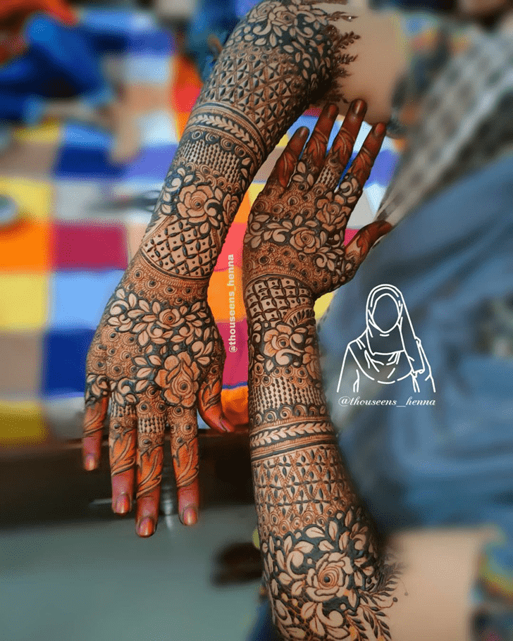 Splendid Pennsylvania Henna Design