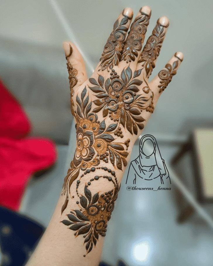 Stunning Pennsylvania Henna Design