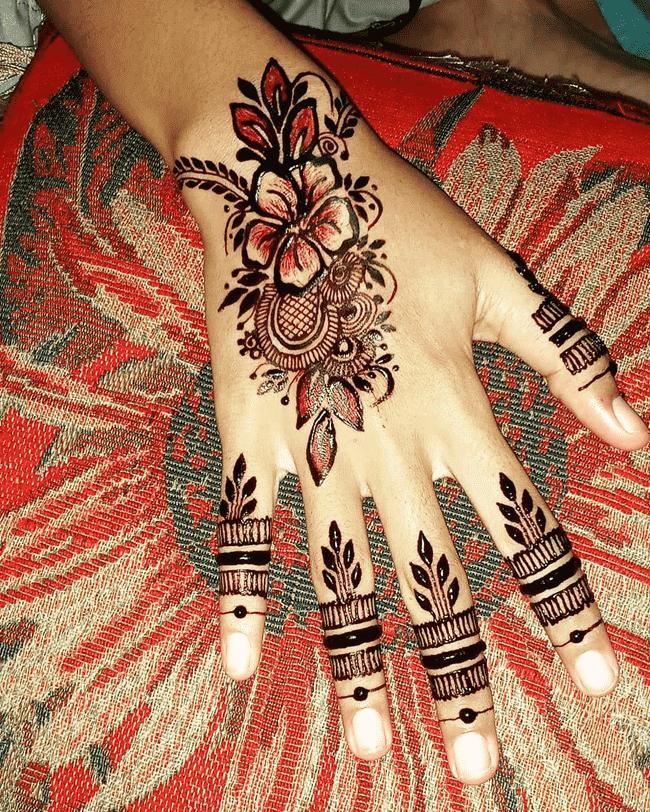 Angelic Peshawar Henna Design