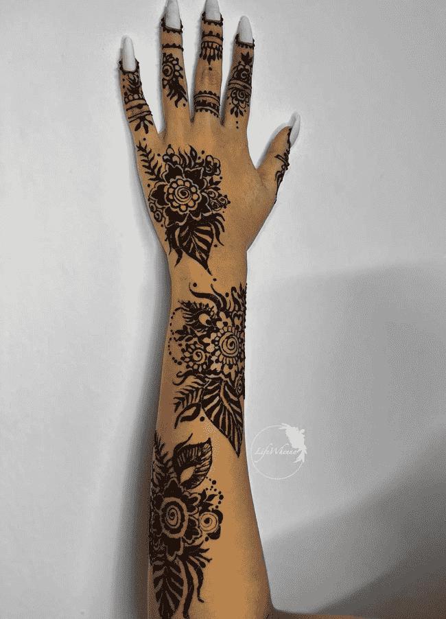 Bewitching Peshawar Henna Design