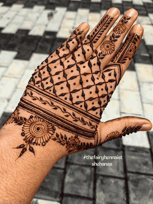 Adorable Pondicherry Henna Design