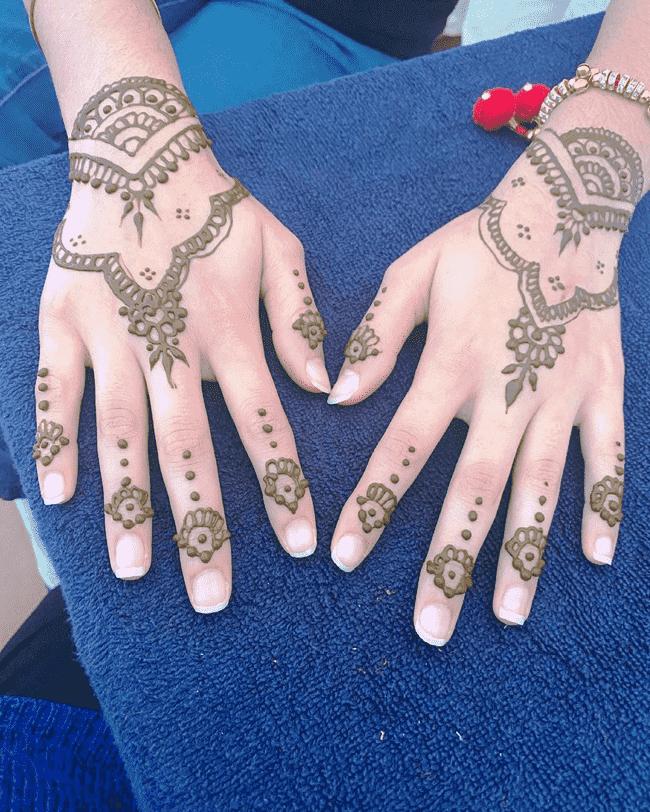 Bewitching Pondicherry Henna Design