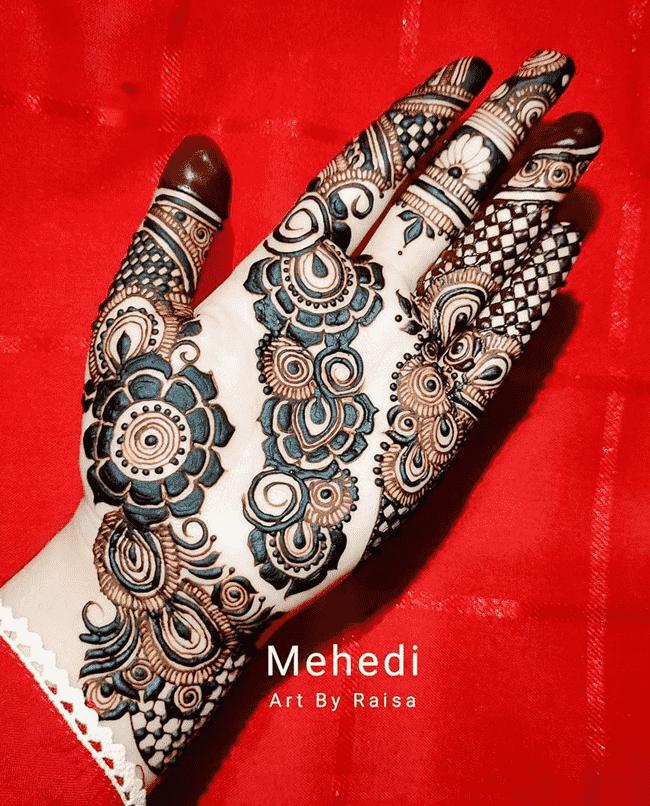Charming Pondicherry Henna Design