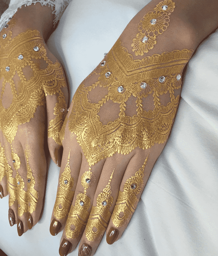 Captivating Pongal Henna Design