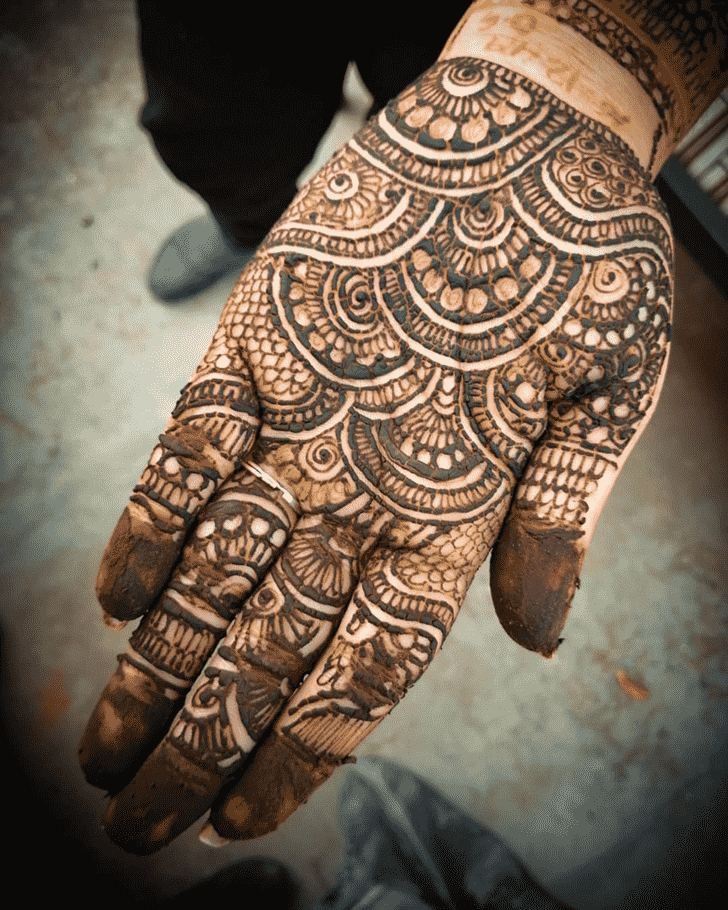 Admirable Prayagraj Mehndi Design