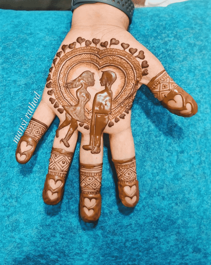 Captivating Prayagraj Henna Design