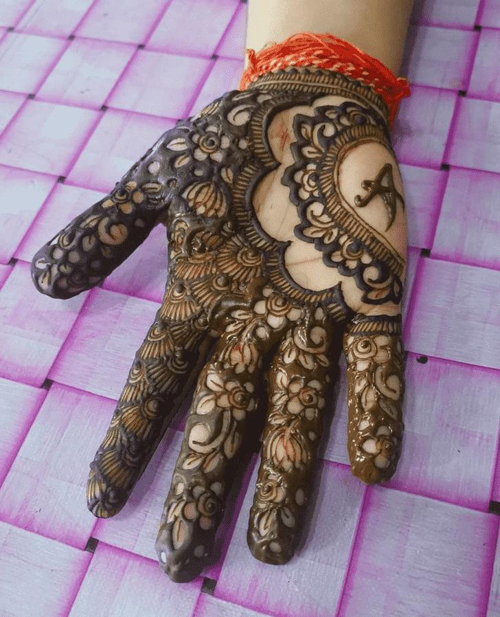 Arm Prayagraj Henna Design
