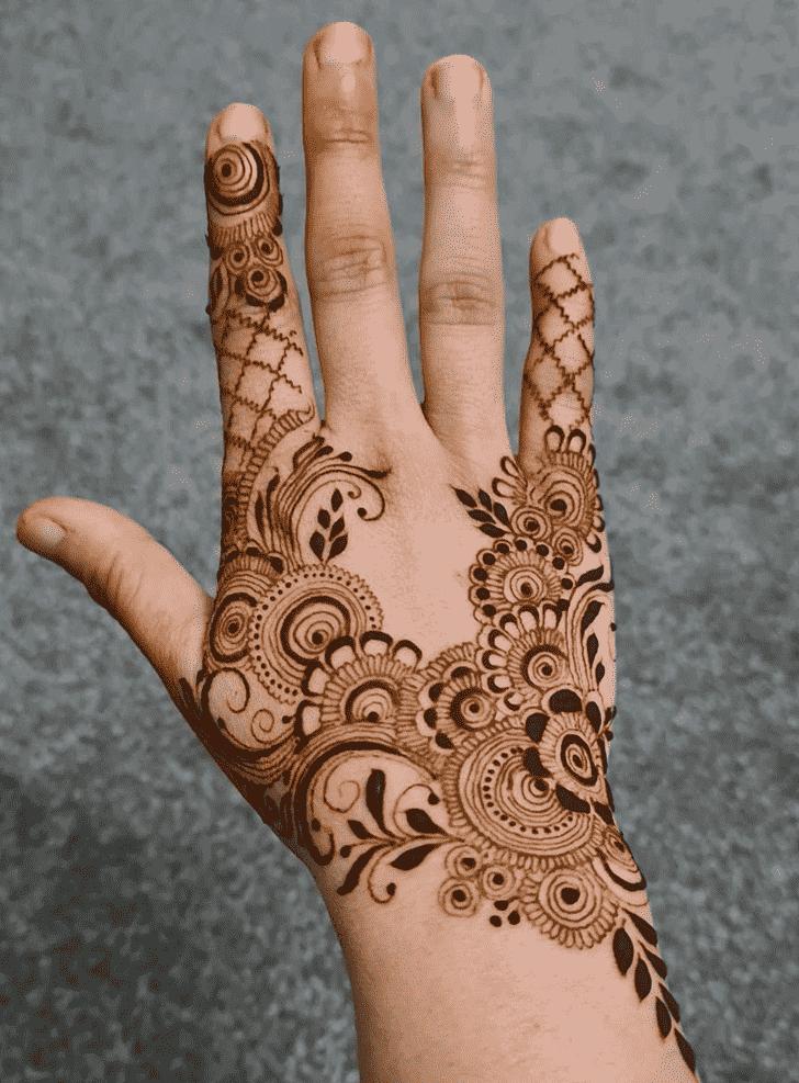 Fair Prayagraj Henna Design