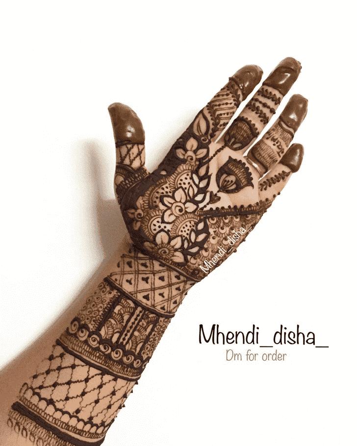 Ideal Prayagraj Henna Design