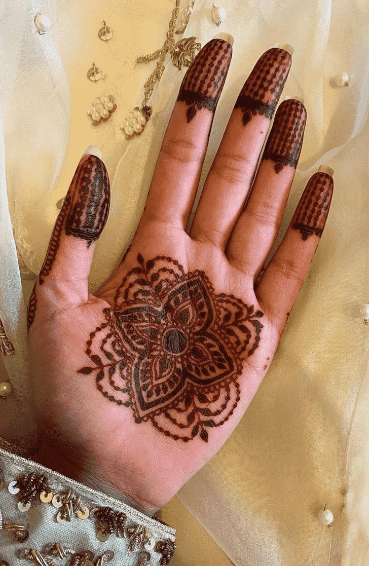 Radiant Prayagraj Henna Design