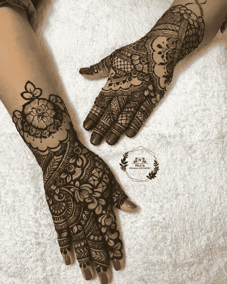 Superb Prayagraj Henna Design