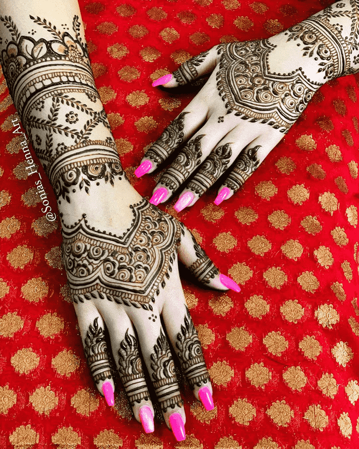 Appealing Professional Henna Design