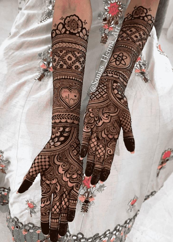 Captivating Professional Henna Design