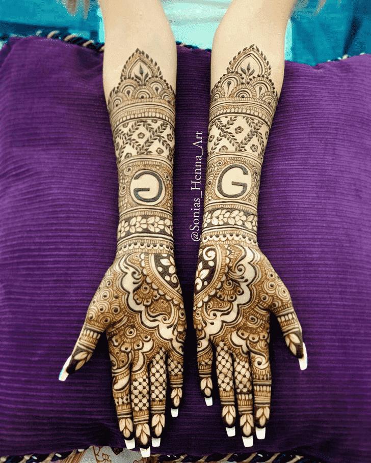 Classy Professional Henna Design