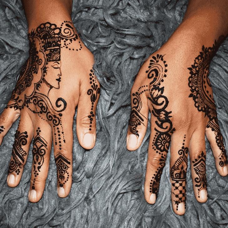 Bewitching Pune Henna Design
