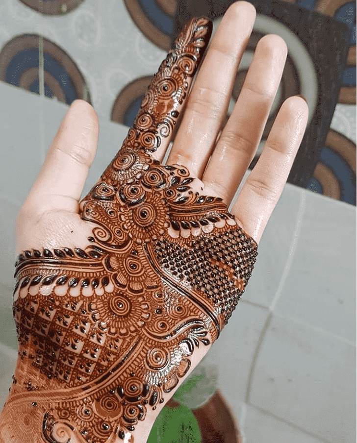 Admirable Punjabi Mehndi Design