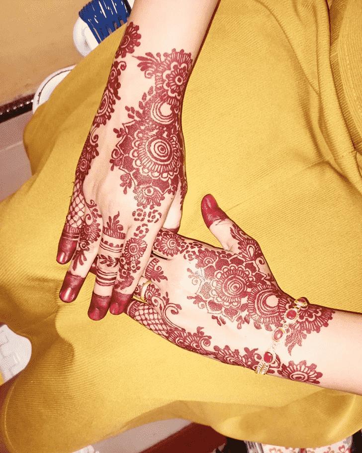 Angelic Punjabi Henna Design