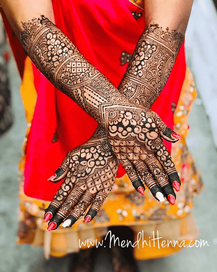 Excellent Punjabi Henna Design