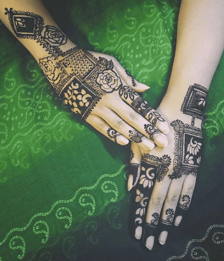 Gorgeous Punjabi Henna Design
