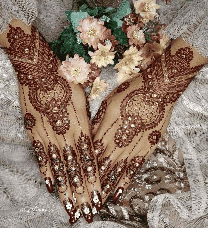 Stunning Punjabi Henna Design