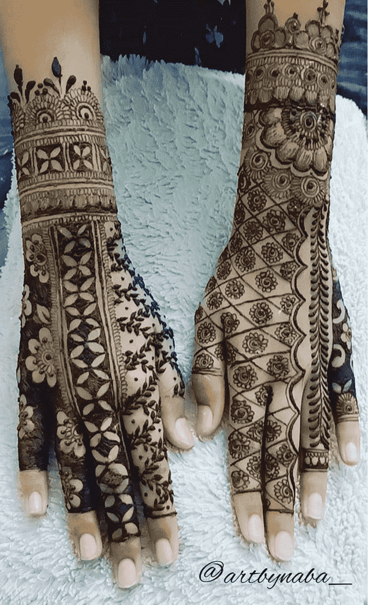 Wonderful Punjabi Mehndi Design