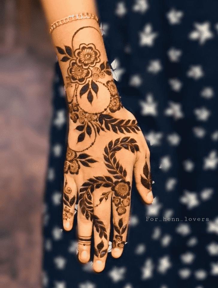 Angelic Raipur Henna Design