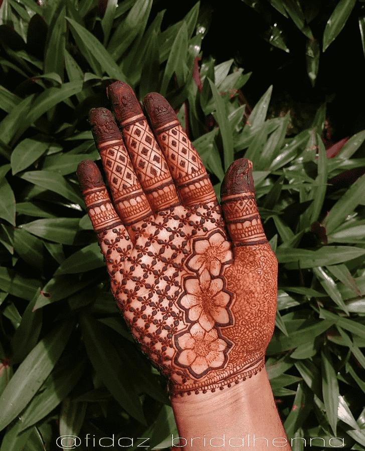 Appealing Raipur Henna Design