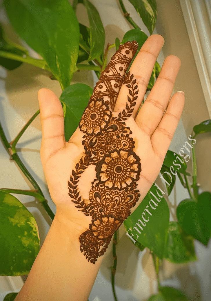 Captivating Raipur Henna Design