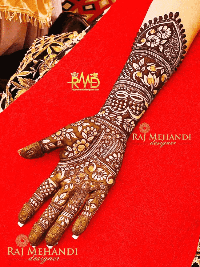 Adorable Rajkot Henna Design