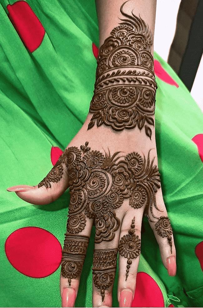 Angelic Rajkot Henna Design
