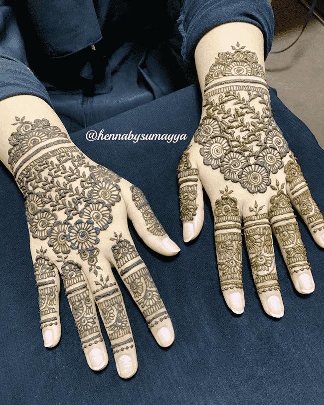 Beauteous Rajkot Henna Design