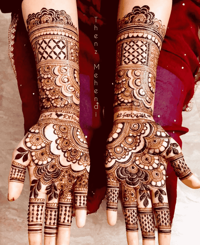 Captivating Rajkot Henna Design