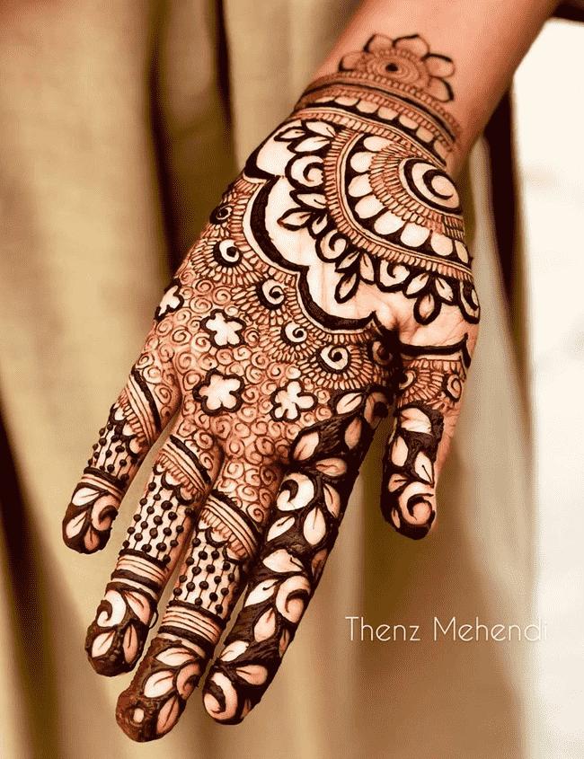 Charming Rajkot Henna Design