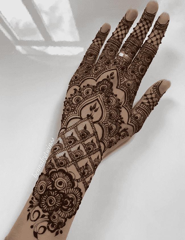 Classy Rajkot Henna Design