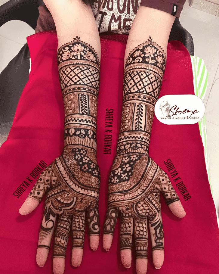 Adorable Rajshahi Henna Design