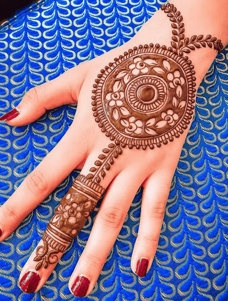 Appealing Rajshahi Henna Design