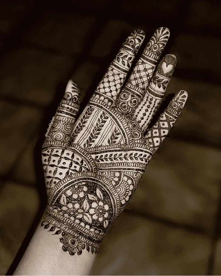 Captivating Rajshahi Henna Design