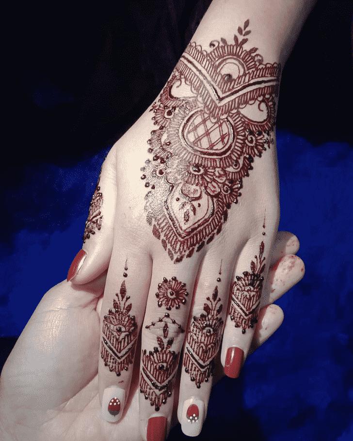 Charming Rajshahi Henna Design