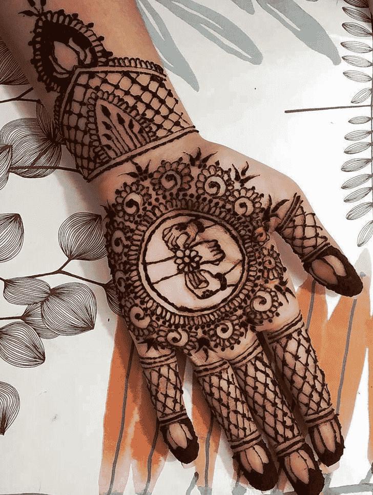 Alluring Rakhi Special Henna Design