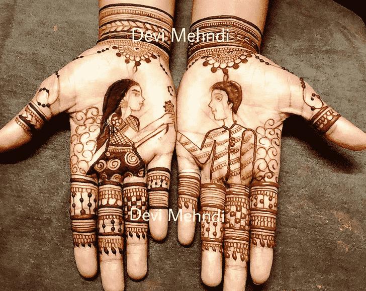Captivating Rakhi Special Henna Design