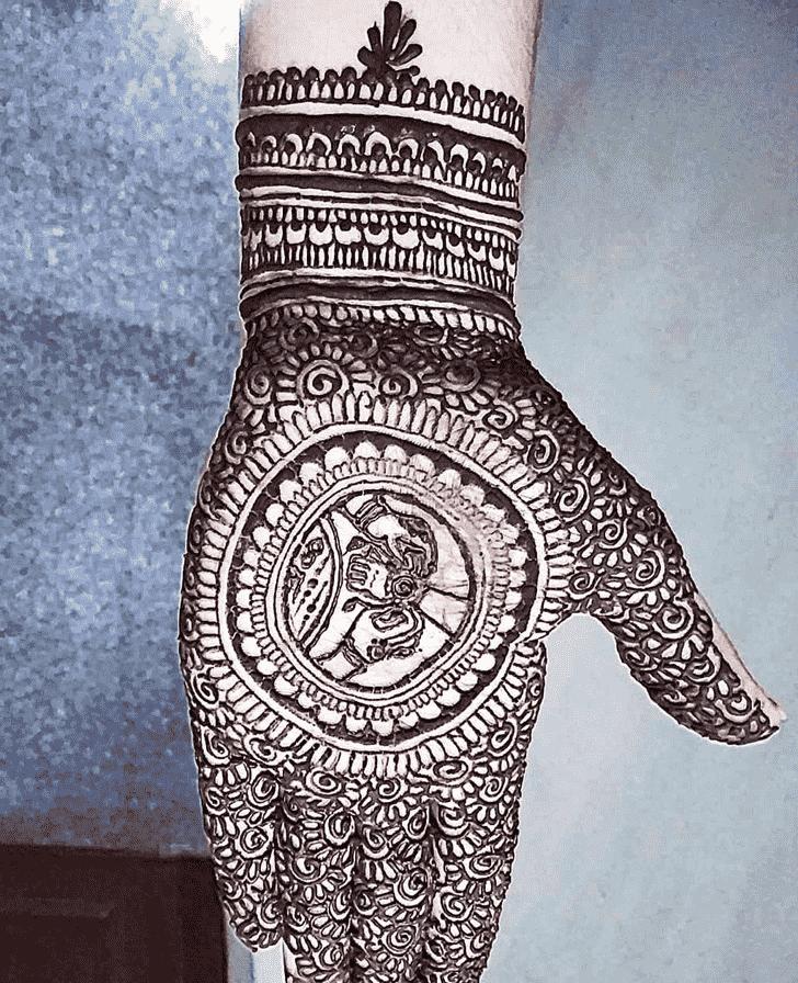 Fair Rakhi Special Henna Design
