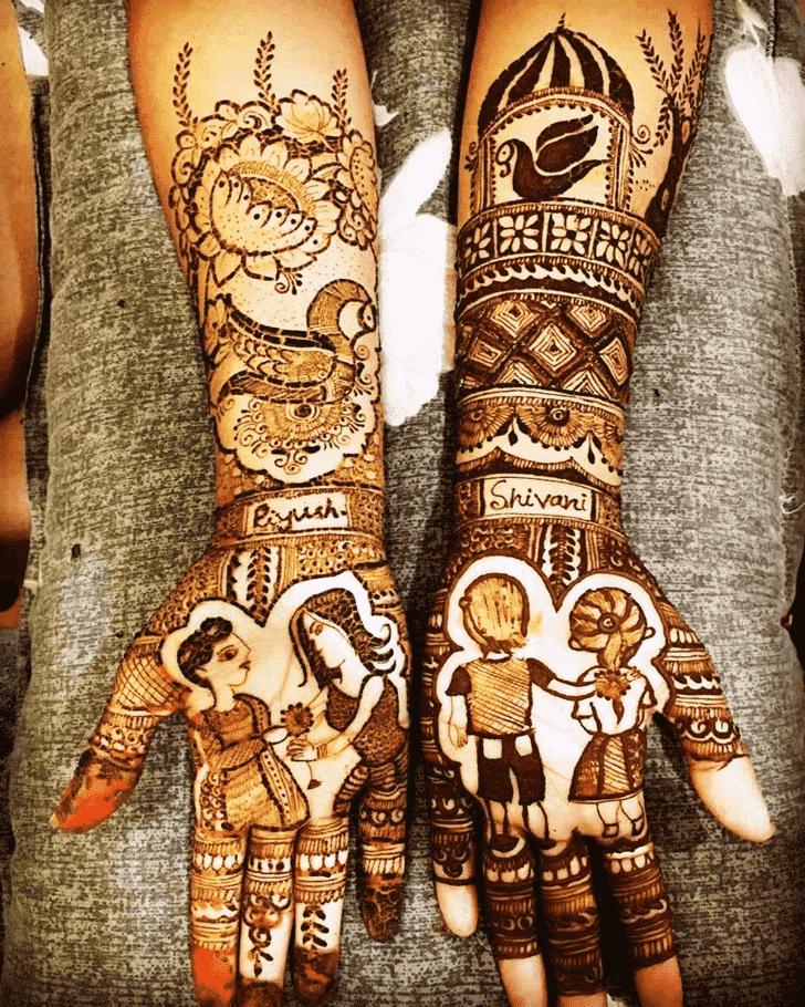 Fascinating Rakhi Special Henna Design